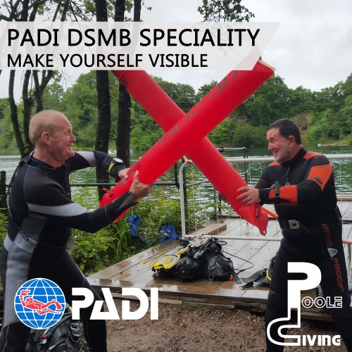 PADI Delayed Surface Marker Buoy